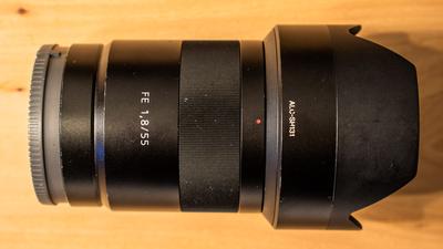 Sony Sonnar® T* FE 55 mm F1,8 ZA