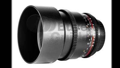 Samyang 85mm T1.5 Cine Prime